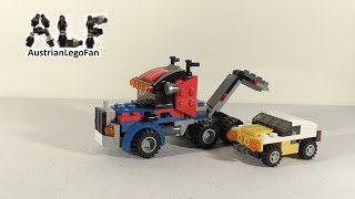 Lego Creator 31033 Modell 2v3 Tow Truck / Abschleppwagen - Lego Speed Build Review