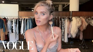 Elsa Hosk Unveils the Victoria's Secret Fantasy Bra & Her Angel Makeup Look | Beauty Secrets