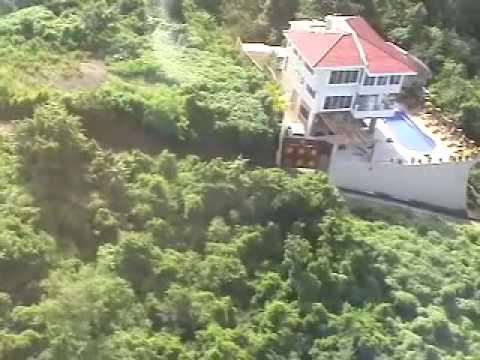 Casa Del Soul from Helicopter..San juan Del Sur,Nicaragua