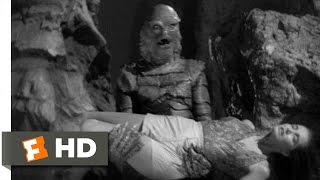 Creature from the Black Lagoon (9/10) Movie CLIP - Into the Creature's Lair (1954) HD