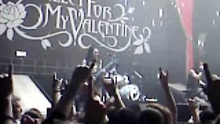 Bullet for my Valentine Tears don´t fall Live Köln 02.11.06