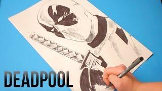 Speed Drawing: DEADPOOL (Marvel Comics Movie Character)