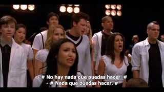 Glee musicales con subtitulo en español  KEEP HOLDING ON 1x07 3