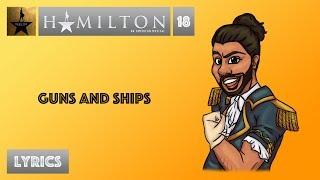 #18 Hamilton - Guns And Ships [[VIDEO LYRICS]]