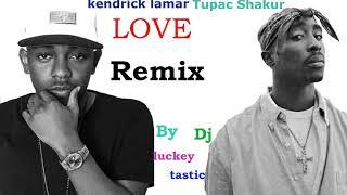 Kendrick Lamar - LOVE (feat. Tupac, 2pac)