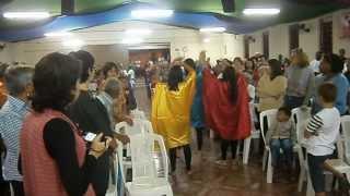 Entrada da Bíblia - IAM Santa Teresa D'Avila - Mogi Guaçu-SP