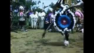 Native indian War and spirit dance  lyo ay ale loya