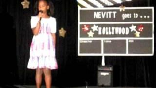 Micaela the singing sensation!!!