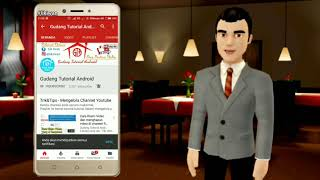 Video Opening Animasi 3D Orang Bicara Pada Intro Video || Gudang Tutorial android - Lik Iwan