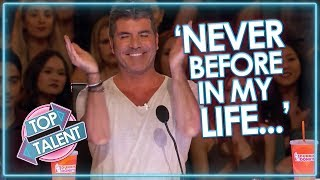 Simon Cowell's FAVOURITE EVER USA Auditions! X Factor, Got Talent and Idols - Part One | Top Talent