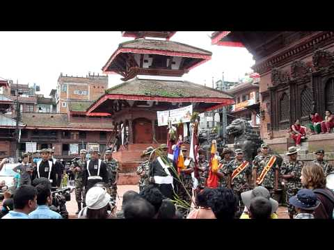 Festival Procession – Kathmandu, Durbar Square (Part 1)