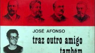 """José Afonso - """"Traz outro amigo também"""" do disco """"Traz Outro Amigo Também""""  (LP 1970)"""