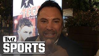 Oscar De La Hoya Says Mayweather's a Broke 'Lowlife' | TMZ Sports