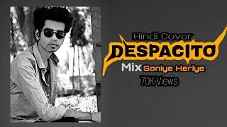 Despacito Hindi Cover | Soniye Heriye | Lyrics Video By GURU TUBE
