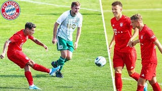 Goal Debuts for Coutinho, Cuisance & Perišić | Vilshofen Rot Weiß - FC Bayern 1-13 | Highlights