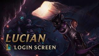Lucian, the Purifier | Login Screen - League of Legends