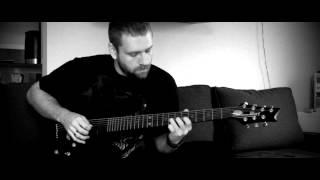 Saturnus - Descending - guitar cover solo (part 3)