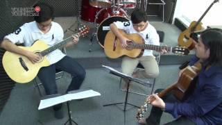 Các lớp học tại học viện âm nhạc Young hit Young beat