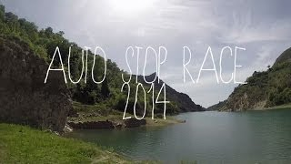 Travel On Longboard  Autostop Race 2014