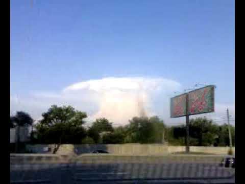 Strange cloud 1 (Ukraine, Kiev, Ukrainka 16.07.09)