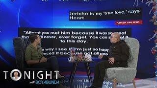 TWBA: Jericho's reaction to Heart's trending message for him width=