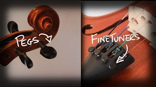 Violin Tuning Tips - Pegs and Fine Tuners