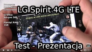 LG Spirit 4G LTE Test - Prezentacja width=