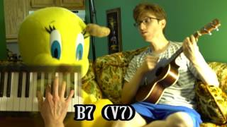 """How to Play """"All the Way"""" cover"""