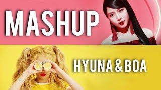 Lip & Hip & CAMO [Hyuna & BoA MASHUP]
