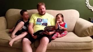 Big J reading Little Owl Night