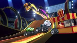 Blaze and the Monster Machines theme song (Reversed)