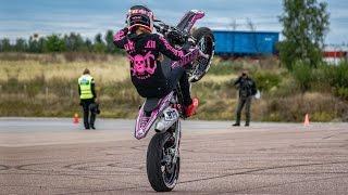 Saaraazh - Start2Ride | Supermoto Stunts