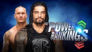WWE Power Rankings 27 de agosto de 2016