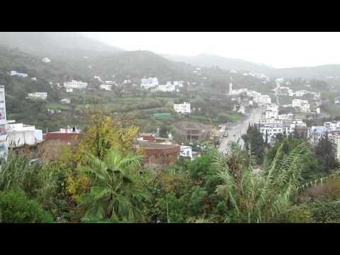 MARRUECOS. Lluvia otoñal en Chefchaouen, الشاون