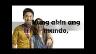 Kung Akin Ang Mundo - Khalil Ramos (Lyrics) HD