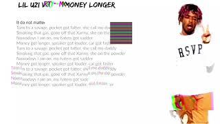 Lil Uzi Vert - Money Longer Earape