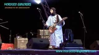 Traditional musicians live at Nomad Festival M´Hamid - Morocco Pt 2