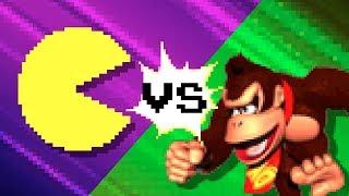 Pacman vs Donkey Kong