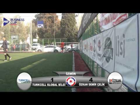 Turkcell Global Bilgi   Özkan Demir Çelik  Busines Cup İzmir 2012 Maç Özeti HD