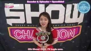 [ENG SUB] 160817 Show Champion 뽐뽐뽐 (Bbom Bbom Bbom) - Seunghee Cut