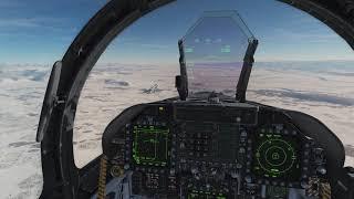 vol d'interception dont un avion perdu