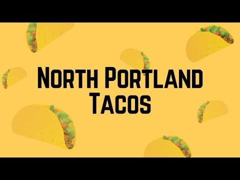 Students go head-to-head in a blindfolded challenge as they guess which taco belongs to which well-known North Portland restaurant.