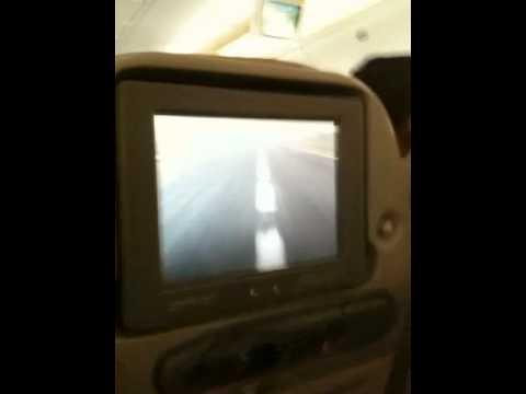 Emirates landing In Dhaka