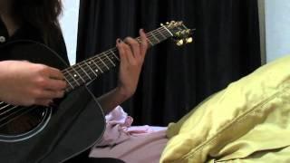 Percussive fingerstyle guitar idea