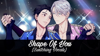 Nightcore - Shape Of You (English/Spanish Cover) (Switching Vocals)