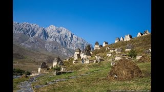 The dead city in Ossetia