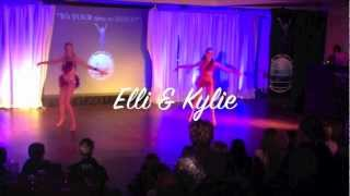 SALSA SOLO NEW ZEALAND 2012 * International Guest Performers - Elli & Kylie