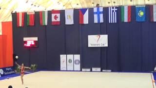 Varvara Filiou (GRE) Ball- Kalamata Cup 2014 All Round
