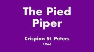 The Pied Piper - Crispian St. Peters - 1966