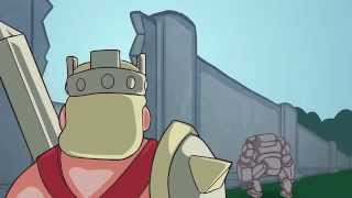 Clash of clans Animation - Raid the village (Inferno tower power!)